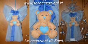 fiocco orsetto azzurro